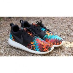 "Nike Roshe Run ""Aztec"" Customs by Profound Product"