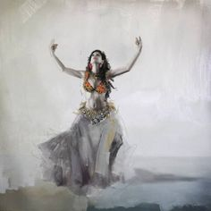 Belly Dancer Painting - Belly Dancer 5 by Corporate Art Task Force Dance Paintings, Thing 1, Belly Dance Costumes, Sketch Painting, Dance Pictures, Dance Art, Belly Dancers, Unique Art, Fine Art America