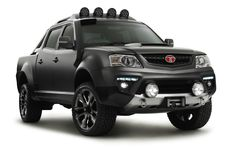 At the national outdoors show in Melbourne Tata revealed Xenon Tuff Truck Concept. Tata Xenon Tuff Trck concept was designed by Julian Quincey. Affordable Suv, Tata Cars, Tata Motors, Four Wheelers, Army Vehicles, Diesel Engine, Amazing Cars, Awesome, Pickup Trucks