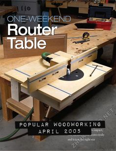 Make your own homemade router table and base plates router tips router table cabinets can be a waste of space this compact vise mounted unit stores easily and is just the right size and you can build it in a weekend greentooth Gallery