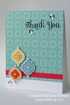 Here's a pretty quick and simple card for you today. It's sometimes fun to let your dsp do your work for you. Enjoy your Saturday! Thanks for stopping by! Supplies Used: Stamps: Four…