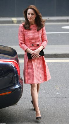 William and Kate previously visited another XLP project in Gipsy Hill just under a year ago when Kate was eight months' pregnant with Princess Charlotte