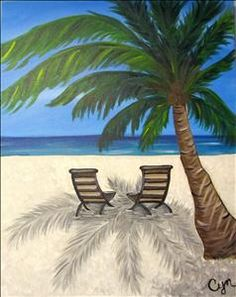Shady Afternoon - Sarasota, FL Painting Class - Painting with a Twist