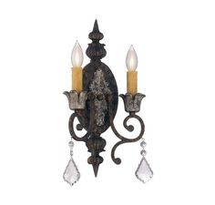 Savoy House 9P-156-2 Elizabeth 2 Light ADA Compliant Wall Sconce New Tortoise Shell / Silver Indoor Lighting Wall Sconces