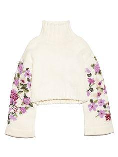 フラワースリーブセーター(ニット)|FURFUR(ファーファー)|ファッション通販|ウサギオンライン公式通販サイト