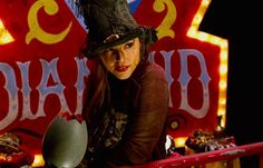 Devil's Carnival. Briana Evigan, as Shadow and Ms. Merrywood, in 'The Devil's Carnival.'