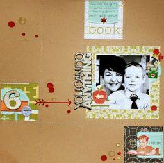 Life. Paper. Scrapbook. : January Sketch Challenge - Louise Beerens