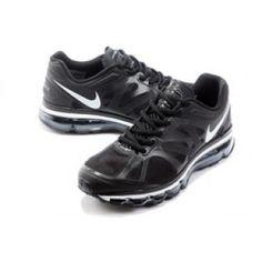 Nike Air Max 2012 Mens Running Shoes White Cool Black