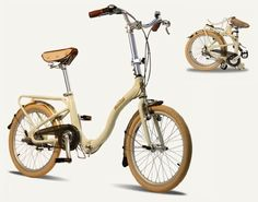 The Barcelona Citizen Bike is a match-up between elegant design and elite technology. This distinctive folding bicycle will surely leave all eyes on you as you cruise through your city.