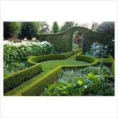 Belgian country garden. www.gapphotos.com
