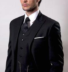 Image result for black man pinstripe suit