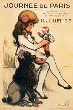 Journée de Paris, propaganda poster, 1917 | by trialsanderrors