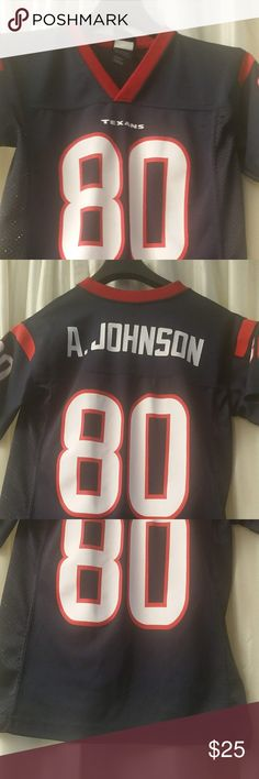 Celebrated the team great moments by wearing this Andre Johnson 10th