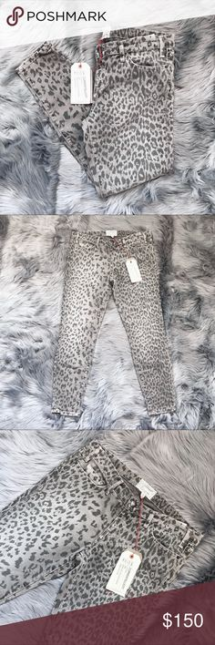 Current Elliott Leopard Print Stiletto Jeans Current Elliott Leopard Print Stiletto Jeans Size: 31 Length:  Inseam:  Condition: NWT  Inv: AA **All items from my closet come from a SMOKE FREE home** 💕 Current/Elliott Jeans