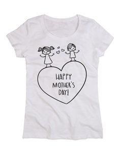 T-shirt Personalizzate donna slub girocollo festa della mamma 1-05