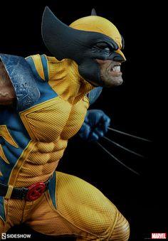 Marvel Wolverine Premium Format(TM) Figure by Sideshow Colle Wolverine Comics, Marvel Comics, Logan Wolverine, Marvel Heroes, Marvel Characters, Comic Book Characters, X Men, Marvel Statues, Comic Kunst