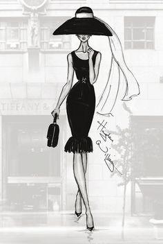 Moda en dibujos