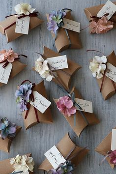 Garden party wedding ideas. How cute are these.