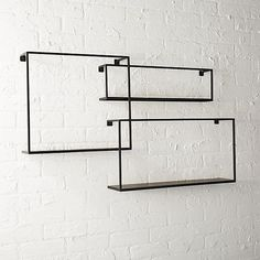 """$99.95  Dimensions:   Large Width: 24"""" Depth: 5"""" Height: 12.75""""  Medium Width: 18.25"""" Depth: 4"""" Height: 16""""  Small Width: 22.25"""" Depth: 3"""" Height: 6.5"""" set of 3 floating shelves  Location: Possibly for above FIreplace"""