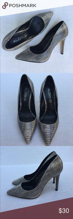 Also Snake Skin Pattern Heels Also Snake Skin Pattern Heels Aldo Shoes Heels