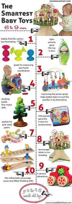 smartest baby toys 6-9 months