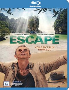 Escape - Christian Movie/Film on Blu-ray from Pure Flix with C. Thomas Howell, John Rhys-Davies. http://www.christianfilmdatabase.com/review/escape/