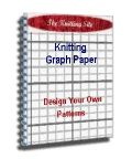 I love this site - it let's you design your own knitting charts with knitting graph paper
