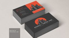 Skyline-Free-Business-Card-Template
