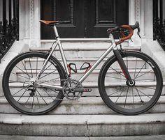 """Passoni Titanium Top Force Road Bike by @BespokeCycling @passoni_bikes #cycling…"