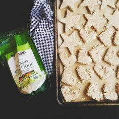 apple cinnamon dog treats // flax + oats