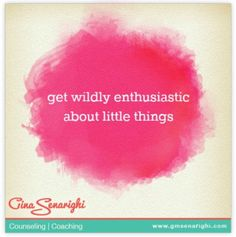 New Blog Post: Be Wildly Enthusiastic About Your Partner #longtermprelationship #love #marriage