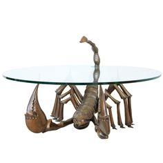 Jacques Duval Brasseur Scorpion Table