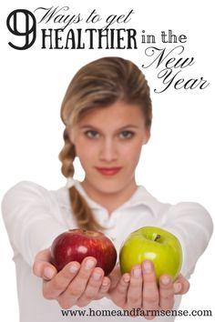 9 simple ways to get healthier in 2015! You might be surprised at some of the ways included...