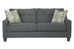 Dark Gray Shayla Queen Sofa Sleeper View 2