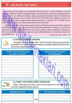 8. Sınıf İnkılap Tarihi Top YayınlarıÇalışma Kitabı Cevapları Sayfa 55   8. Sınıf İnkılap Tarihi Top Yayınları Çalışma Kitabı Cevapları Sa... Periodic Table, Periodic Table Chart, Periotic Table