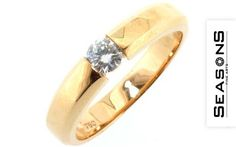 Extravagant engagement ring 750/ Rg with diamond