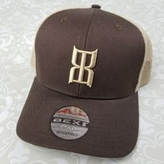 51537e4f827 BEX Trucker Ball Hat Cap Snapback Brown  BEX  Cap