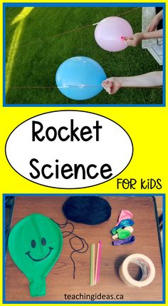Get kids excited about science with this simple rocket science experiment for kids. You only need a few materials and your kids will love testing out their rocket and learning about science. #rocketscience #rocketscienceexperiment #stemactivitieselementary #scientific method