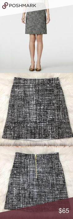 Kate Spade Black Tweed Judy Skirt Condition: pre-owned. Normal wear. No noted defects. | NO TRADES kate spade Skirts