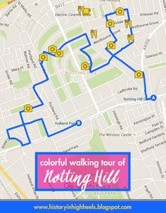 History In High Heels: A Colorful Tour of Notting Hill