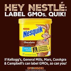 Hey Nestlé don't be