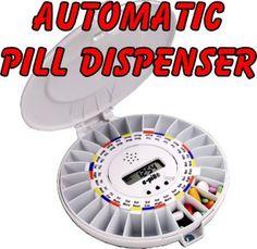 e-pill Automatic Medication Dispenser. Automatic pill box al