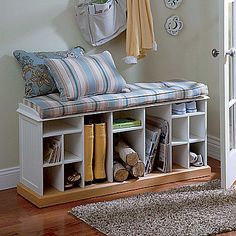 Providence Entry Shoe & Boot Bench