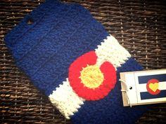 Crochet Tablet Cover. $40.00 etsy.com/shop/LoveColorado