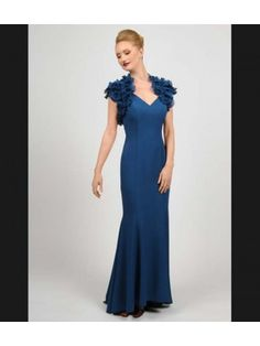 Daymor Couture 413 mother of bride evening dress.  This is the one I tried in burgundy...