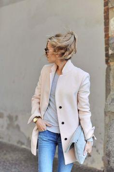 blush + coat