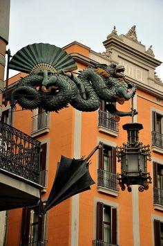 Casa dels Paraigues, the umbrella house - Barcelona, Barcelona