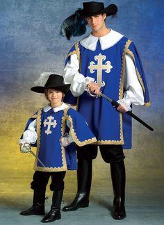 How to make a musketeer costume for halloween disfraz de mosquetero c mo hacer y carnavales - Disfraz casero mosquetero ...