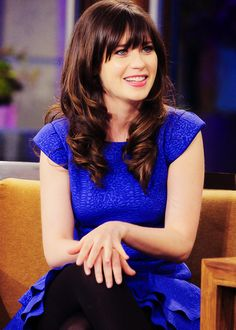 If I could have anyone's hair, it would def be Zooey's!