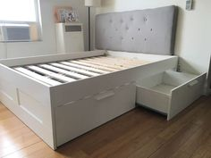 Brimnes Bett Ikea Erfahrung : IKEA Brimnes Bed with Tufted headboard in Los Angeles, CA (sells for $ ...